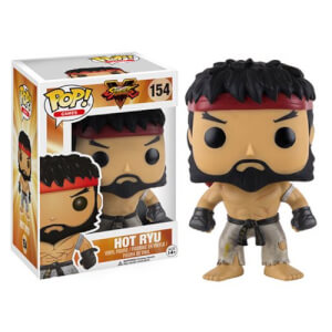 Street Fighter Hot Ryu Figurine Funko Pop!