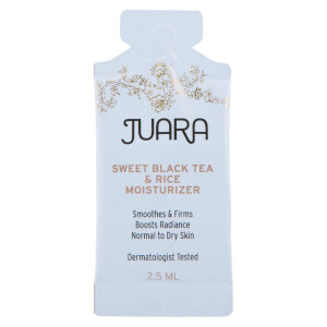 Juara Sweet Black Tea and Rice Moisturizer Sample