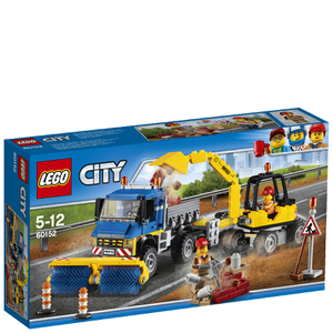 LEGO City: Sweeper & Excavator (60152)