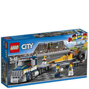 LEGO City: Le transporteur du dragster (60151)