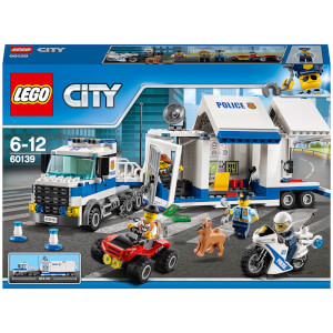 LEGO City: Police Mobile Command Centre Truck Toy (60139)