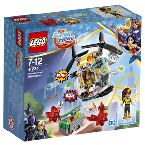 LEGO DC Super Hero Girls: Bumblebee™ helikopter (41234)