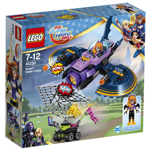 LEGO DC Super Hero Girls: La poursuite en Batjet de Batgirl™ (41230)
