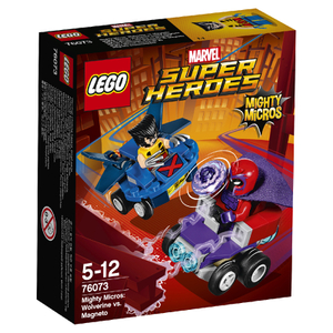 LEGO Superheroes Mighty Micros: Lobezno vs. Magneto (76073)