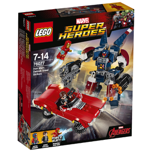 LEGO Marvel Superheroes: Iron Man gegen Detroit Steel (76077)