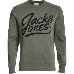 Jack & Jones Originals Men's Anything Graphic Sweatshirt - Thyme