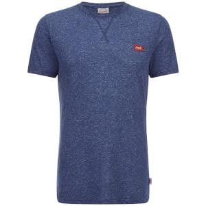 Jack & Jones Men's Originals Kingpin Textured T-Shirt - Dark Denim Marl