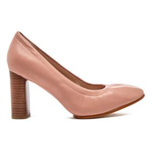 Clarks Women's Grace Eva Leather Court Shoes - Dusty Pink
