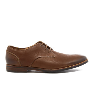 Clarks Men's Broyd Walk Leather Derby Shoes - Tan