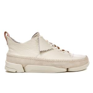 Clarks Originals Men's Trigenic Flex Shoes - White Leather