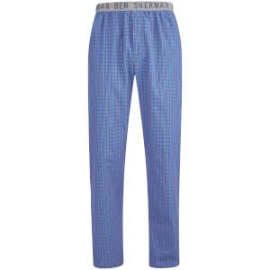 Pantalón pijama cuadros Ben Sherman Bart - Hombre - Azul marino/gris