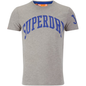 Superdry Men's Team Tigers T-Shirt - Light Grit Grey