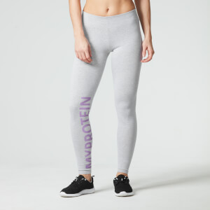 Myprotein Women's Logo Leggings –Grey