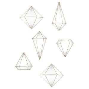 Umbra Prisma Wall Decor - Brass