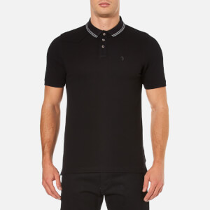 Luke 1977 Men's Will Honey Waffle Polo Shirt - Jet Black