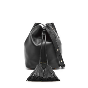 Ted Baker Women's Avida Tassle Detail Bucket Bag - Black