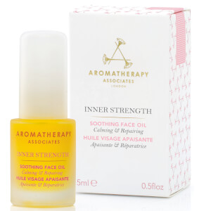 Óleo Facial Suavizante Inner Strength da Aromatherapy Associates 15 ml