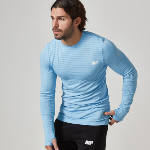 Myprotein Men's Long Sleeve Top - Blue