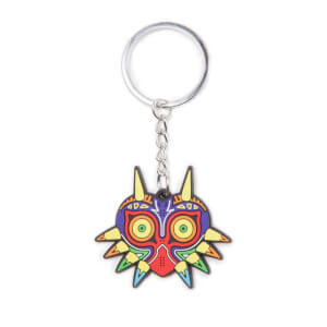 The Legend Of Zelda (Majora's Mask) - Rubber Keychain