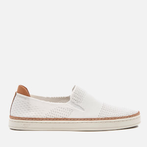 UGG Women's Sammy Knit Cupsole Slip On Trainers - White