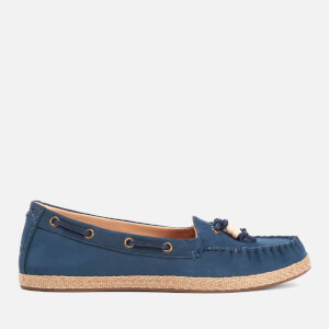 UGG Women's Suzette Nubuck Moccasin Shoes - Marino