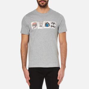 PS by Paul Smith Men's Mascots T-Shirt - Grey Marl