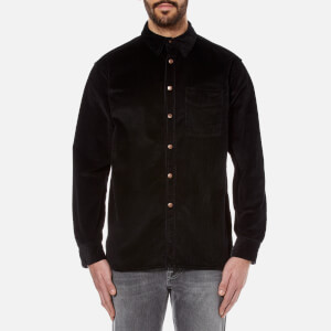 Nudie Jeans Men's Calle Cord Shirt - Black