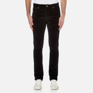 Nudie Jeans Men's Grim Tim Slim Straight Jeans - Black Cord