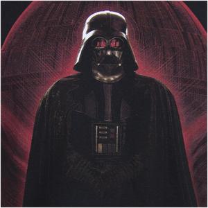 Star Wars Rogue One Men's Darth Vader Red Globe T-Shirt - Black: Image 2