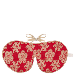 Holistic Silk Eye Mask Slipper Gift Set - Scarlet (Various Sizes)