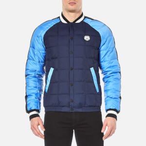 KENZO Men's Quilted Tiger Bomber Jacket - Midnight Blue