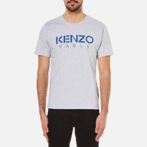 KENZO Men's Kenzo Paris Logo T-Shirt - Silver Grey