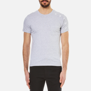 KENZO Men's Sleeve Logo Pocket T-Shirt - Pearl Grey