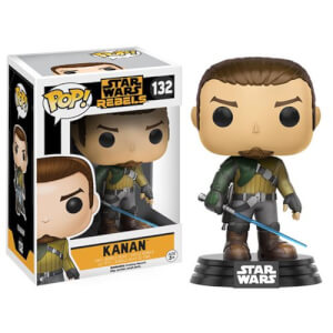 Figura Funko Pop! Kanan Bobble-Head - Star Wars Rebels