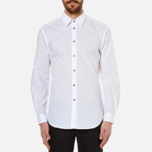 Vivienne Westwood MAN Men's Classic Poplin Cutaway Shirt - White