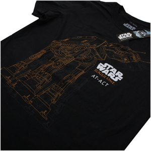 Star Wars Rogue One Men's AT-AT T-Shirt - Black: Image 3