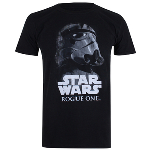 T-Shirt Homme Star Wars Rogue One Trooper Glare - Noir