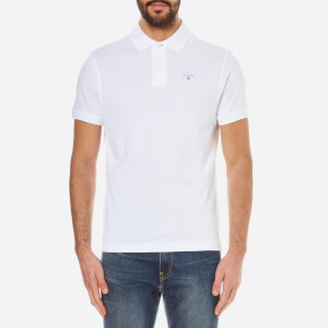 Barbour Men's Sports Polo Shirt - White