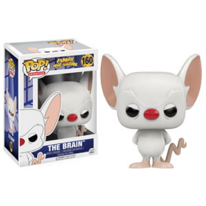 Pinky und The Brain Cartoon The Brain Pop! Vinyl Figur