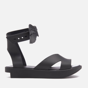 Vivienne Westwood for Melissa Women's Rocking Horse Flatform Sandals - Black Matt