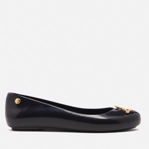 Vivienne Westwood for Melissa Women's Space Love Ballet Flats - Black Gloss