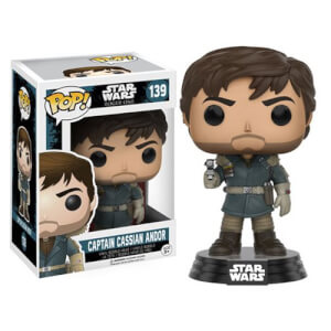 Star Wars Rogue One Captain Cassian Andor Funko Pop! Vinyl Bobblehead