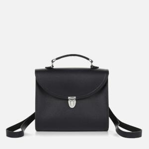 The Cambridge Satchel Company Women's Poppy Backpack - Navy Saffiano