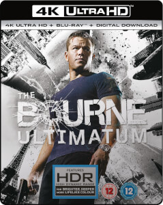 The Bourne Ultimatum - 4K Ultra HD