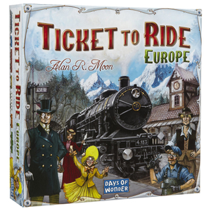 Jeu Ticket to Ride Europe