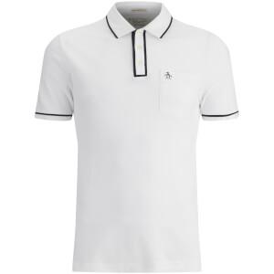 Original Penguin Men's Earl Tipped Polo Shirt - White