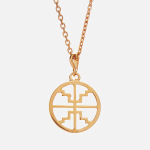 Kiki Minchin Women's The Baby Roxy Disc Necklace - Gold