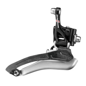 Campagnolo (カンパニョーロ) Record 11 Speed Braze-On Front Derailleur -  ブラック