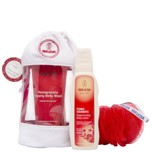 Weleda Pomegranate Wash Bag Gift 2016 (Worth £22.5)