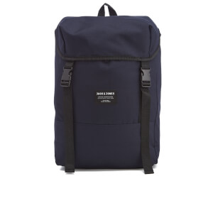 Jack & Jones Men's Textured Rucksack - Total Eclipse